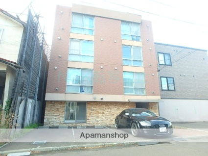 北海道札幌市東区、環状通東駅徒歩8分の築17年 4階建の賃貸マンション