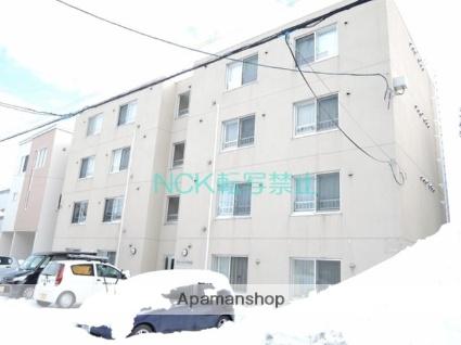 北海道札幌市東区、栄町駅徒歩7分の築8年 4階建の賃貸マンション