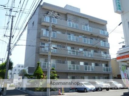 北海道札幌市東区、環状通東駅徒歩5分の築8年 5階建の賃貸マンション