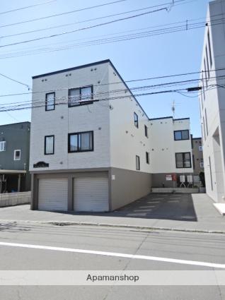 北海道札幌市東区、新道東駅徒歩11分の築13年 3階建の賃貸アパート