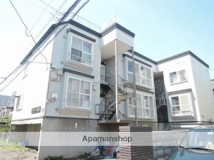北海道札幌市東区、太平駅徒歩15分の築24年 3階建の賃貸アパート