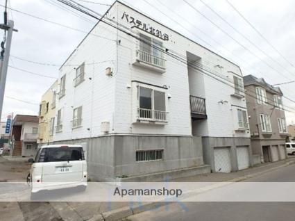 北海道札幌市東区、新道東駅徒歩11分の築28年 3階建の賃貸アパート
