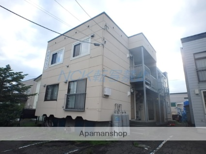 北海道札幌市東区、環状通東駅徒歩8分の築35年 2階建の賃貸アパート