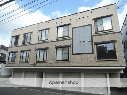 北海道札幌市東区、百合が原駅徒歩22分の築12年 3階建の賃貸アパート