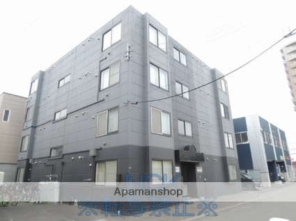 北海道札幌市東区、栄町駅徒歩9分の築24年 4階建の賃貸マンション