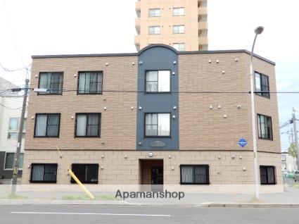 北海道札幌市東区、元町駅徒歩15分の築9年 3階建の賃貸アパート