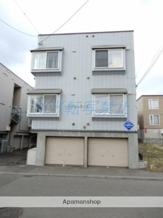 北海道札幌市東区、環状通東駅徒歩16分の築24年 3階建の賃貸アパート
