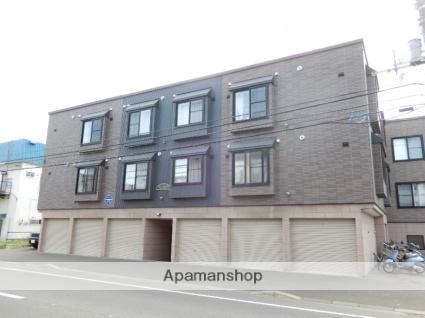 北海道札幌市東区、北18条駅徒歩10分の築13年 3階建の賃貸アパート