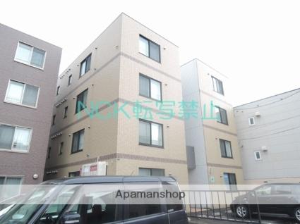 北海道札幌市東区、栄町駅徒歩9分の築8年 4階建の賃貸マンション