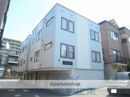 北海道札幌市東区、栄町駅徒歩9分の築12年 3階建の賃貸アパート