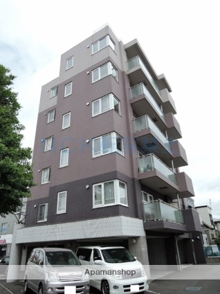 北海道札幌市東区、元町駅徒歩16分の築9年 6階建の賃貸マンション