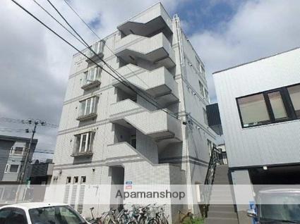 北海道札幌市東区、環状通東駅徒歩13分の築27年 5階建の賃貸マンション