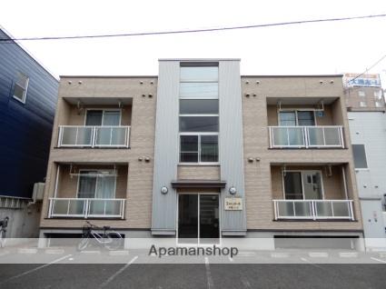 北海道札幌市東区、環状通東駅徒歩17分の築14年 2階建の賃貸アパート