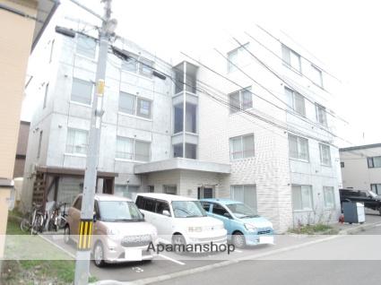 北海道札幌市東区、栄町駅徒歩8分の築3年 4階建の賃貸マンション