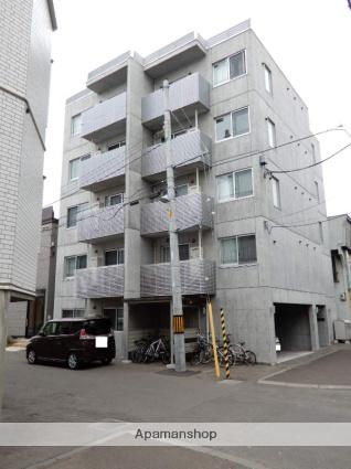 北海道札幌市東区、新道東駅徒歩7分の築3年 5階建の賃貸マンション