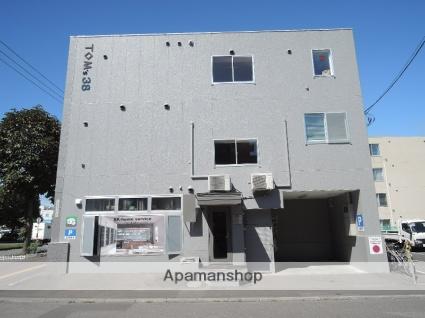 北海道札幌市東区、栄町駅徒歩5分の築20年 3階建の賃貸マンション