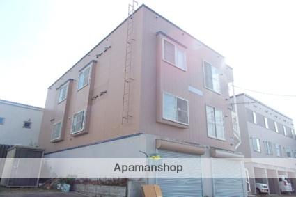 北海道札幌市北区、拓北駅徒歩4分の築23年 3階建の賃貸アパート