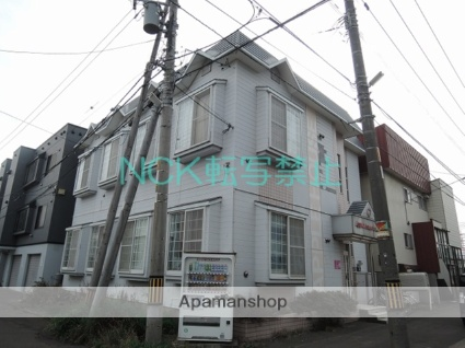 北海道札幌市東区、麻生駅徒歩14分の築27年 2階建の賃貸アパート