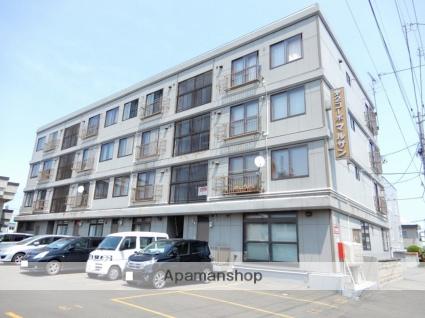 北海道札幌市東区、北24条駅徒歩17分の築35年 4階建の賃貸マンション