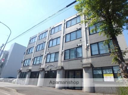 北海道札幌市北区、北18条駅徒歩7分の築24年 4階建の賃貸マンション