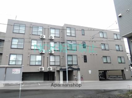 北海道札幌市東区、北34条駅徒歩14分の築17年 4階建の賃貸マンション