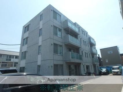 北海道札幌市東区、元町駅徒歩9分の築6年 4階建の賃貸マンション