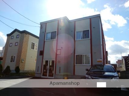 北海道札幌市北区、拓北駅中央バスバス13分あいの里4−7下車後徒歩2分の築8年 2階建の賃貸アパート