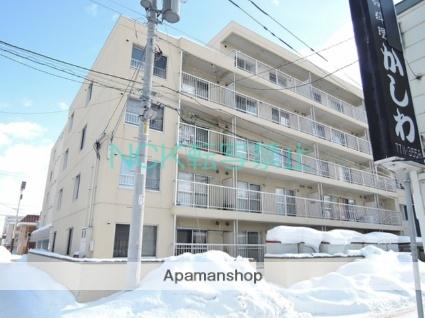 北海道札幌市東区、北24条駅徒歩20分の築30年 5階建の賃貸マンション