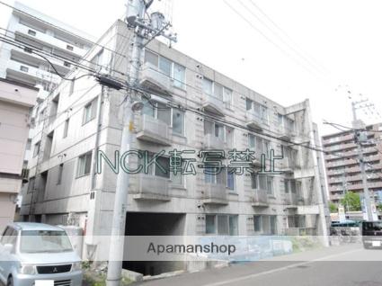 北海道札幌市東区、栄町駅徒歩13分の築25年 4階建の賃貸マンション