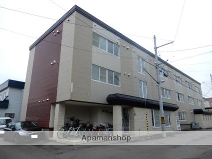 北海道札幌市東区、環状通東駅徒歩15分の築28年 3階建の賃貸マンション