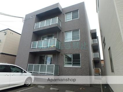 北海道札幌市東区、環状通東駅徒歩10分の築14年 3階建の賃貸マンション