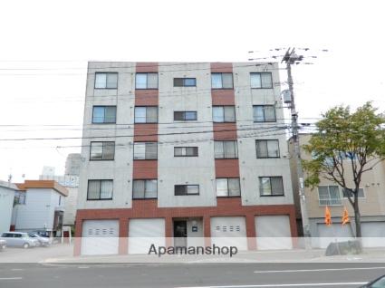 北海道札幌市東区、環状通東駅徒歩5分の築10年 5階建の賃貸マンション