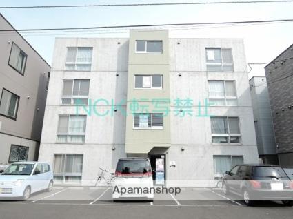 北海道札幌市東区、栄町駅徒歩18分の築14年 4階建の賃貸マンション