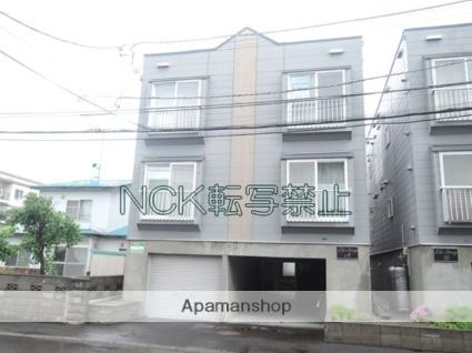 北海道札幌市東区、栄町駅徒歩10分の築23年 3階建の賃貸アパート