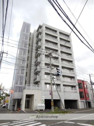 北海道札幌市東区、環状通東駅徒歩4分の築10年 9階建の賃貸マンション