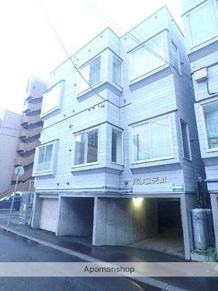 北海道札幌市東区、新道東駅徒歩19分の築21年 3階建の賃貸アパート