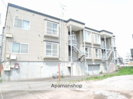 北海道札幌市東区、新琴似駅徒歩18分の築21年 3階建の賃貸アパート