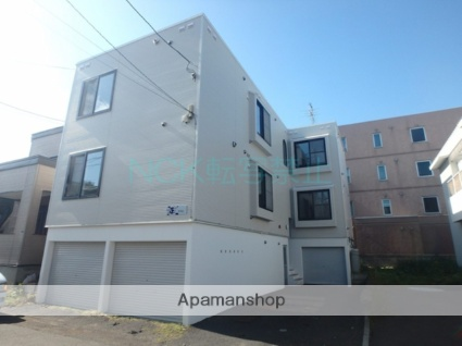 北海道札幌市東区、元町駅徒歩9分の築19年 3階建の賃貸アパート