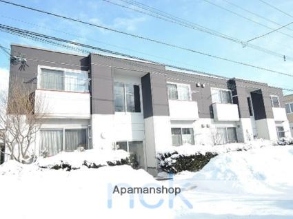 北海道札幌市北区、太平駅徒歩4分の築11年 2階建の賃貸アパート