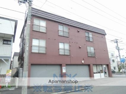 北海道札幌市東区、北34条駅徒歩13分の築36年 3階建の賃貸マンション