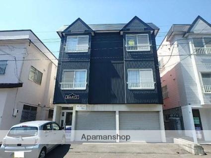 北海道札幌市東区、栄町駅徒歩19分の築28年 3階建の賃貸アパート