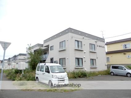 北海道札幌市東区、太平駅徒歩15分の築32年 2階建の賃貸アパート