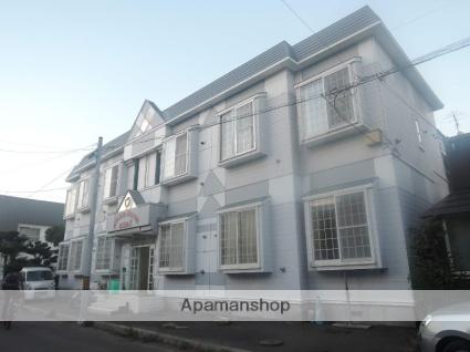 北海道札幌市東区、栄町駅徒歩20分の築28年 2階建の賃貸アパート