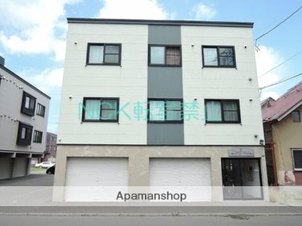 北海道札幌市東区、栄町駅徒歩12分の築11年 3階建の賃貸アパート