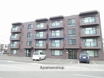 北海道札幌市北区、あいの里教育大駅徒歩5分の築6年 4階建の賃貸マンション