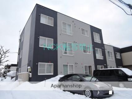 北海道札幌市東区、麻生駅徒歩20分の築17年 3階建の賃貸アパート