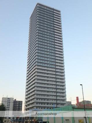 北海道札幌市東区、札幌駅徒歩5分の築2年 38階建の賃貸マンション