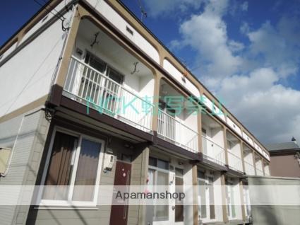 北海道札幌市東区、栄町駅徒歩15分の築36年 2階建の賃貸テラスハウス
