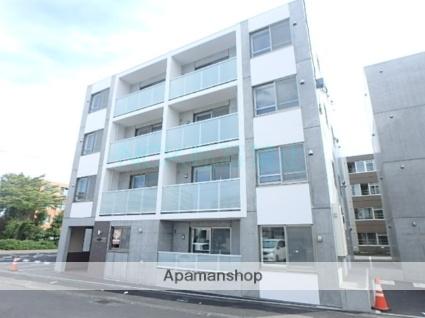 北海道札幌市東区、環状通東駅徒歩7分の新築 4階建の賃貸マンション