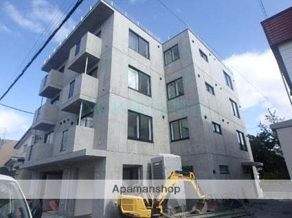 北海道札幌市東区、栄町駅徒歩18分の新築 4階建の賃貸マンション